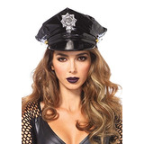 Accesorio Del Traje Del Sombrero De La Policía De Las Mujer