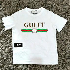 229ea1303854f Camiseta Gucci Feminina Flor Bordada Original