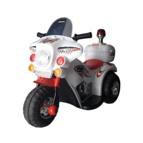 Moto A Bateria Triciclo 6v Musica Luces Sonido Dia Del Niño