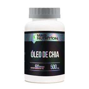 Oleo De Chia 500mg 60 Capsulas Softgel - Mais Nutrition