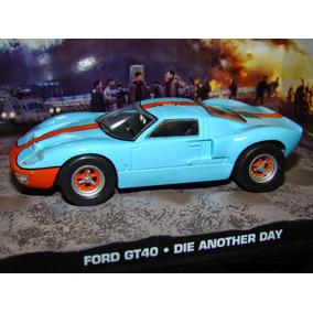 Miniatura Ford Gt James Bond Cars