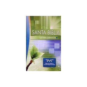 Santa Biblia. Letra Grande. Rustica -