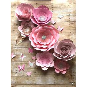 Moldes De Petalos Para Flores Gigantes De Papel