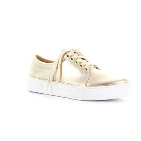 Remate Sneakers / Tenis / Perugia / Color Dorado