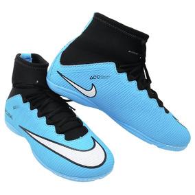 Nova Chuteira Cano Alto Nike - Chuteiras de Futsal para Adultos no ... c449b4c20b400