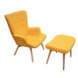 Sillón Sofa Butaca Living Estilo Nordico Diseño Amari Oferta