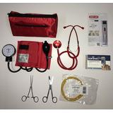 Kit / Set Enfermeria Superior Tensiometro Colores - Oximetro