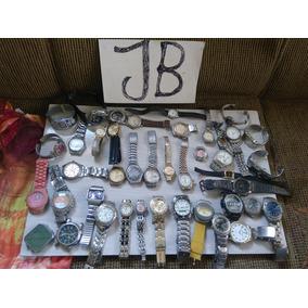 Lote Com 40 Relógios - De Pulso - No Estado.