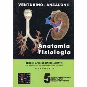 Libro Anatomía Y Fisiología Venturino - Anzalone Tomo 5