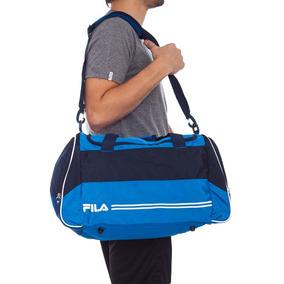 Bolso Fila Duffle Sport Azul-celeste