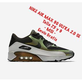 366c0456609cd ... good tenis nike air max 90 2.0 verde c negro 7.5 y 9 92efc 4deea
