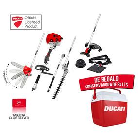 Multifuncion Ducati Desmalezadora Cortacerco 4 En 1 33cc 1hp