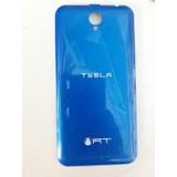 Tapa Trasera Tesla Rt Color Azul