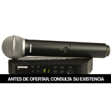 Sistema Inalambrico Microfono Vocal Blx24pg58k12