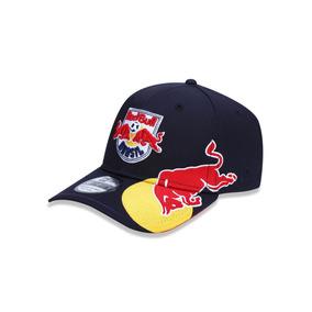 Bone 3930 Red Bull Soccer Aba Curva Marinho New Era