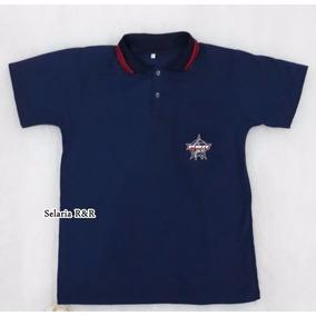 Cal As Masculino Da Pbr Chinelos - Camisa Pólo Manga Curta ... 9fc517644b0