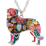 Border Collie, Mascota, Perrito, Collar, Cadenita