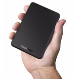 Disco Duro Externo Toshiba 2tb 3.0 2.0 - Black Dog