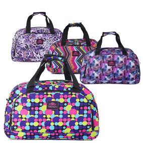Carteras Trendy Bolso Grande Textil Lona 1055