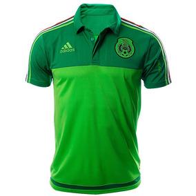 Playera Polo Seleccion De Mexico Hombre adidas S13124