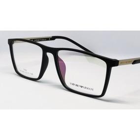 c09a98a2cde07 Oculos Lente Sem Grau - Armações de Óculos Armani no Mercado Livre ...