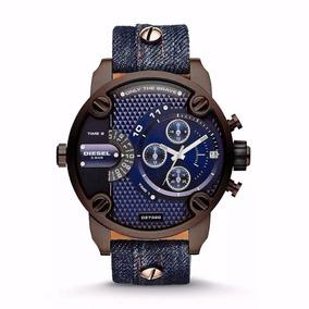 da1d459201bd7 Rel gio Dz 4249 Dourado Diesel - Relógios De Pulso no Mercado Livre ...