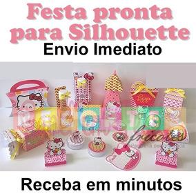 7ad7d4ef78fe6 Kit Festa Hello Kitty - Artesanato no Mercado Livre Brasil
