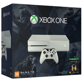 Console Xbox One - Edição Branca Exclusiva - Halo The Master