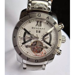 e80896d6d1f Relogio Iron Man Prata - Relógio Bvlgari Masculino no Mercado Livre ...
