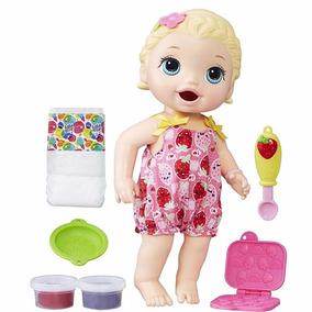 Muñeca Hasbro Baby Alive Lily Toma Come Y Hace Popo - Hb