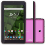 Tablet Bravva Bv-quad 8gb 2mp 3g Android 7.1 1.2ghz Rosa