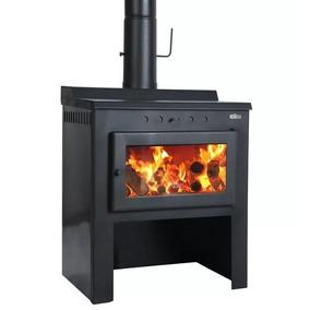 Estufa Calefactor A Leña Cocina Ñuke Multifuncion