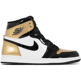 timeless design 24ee2 c40e9 Nike Air Jordan 1 Gold Toe Retro High Og I 861428-007