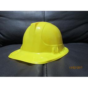 10 Casco Constructor Amarillo Niño Adulto Fiesta Bob Minero