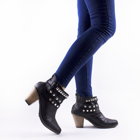 Bota Zapatos Mujer Con Plataforma De Goma Nuevas 2018