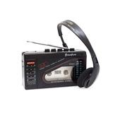 Walkman Broksonic Am/fm Stereo Cassette Grabadora Vintage