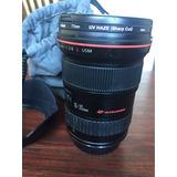 Canon Ef 16-35 2.8 L Usm . Con Parasol Y Funda. Impecable