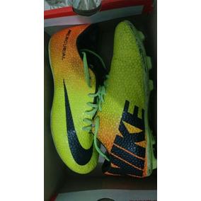 6553a4dbc7 Chuteira Nike Mercurial Victory Iv Society Amarela E Laranja