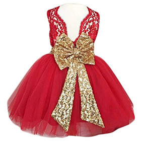 c45c1bd85 Vestido De Fiesta Bebe Niña Talla 12 Meses Color Perla Nvb ...