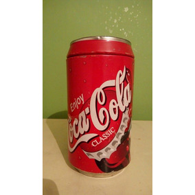Alcancia Cocacola Grande Lata Bote Ahorro Antiguo Refresco