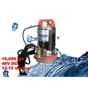 Bomba De Agua Sumergible Solar 48v 15 M 10,000 Lts/hora