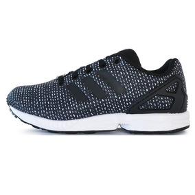 Zapatillas adidas Originals Zx Flux Negra/blanca Niño
