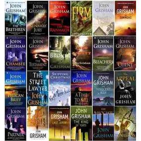 Lote Combo Libros De John Grisham Digital 33x1