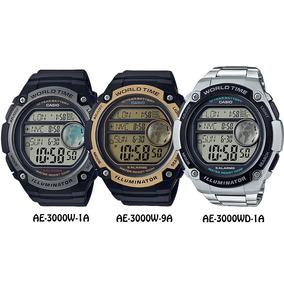 046e43e5701 Relogio Com 2 Fuso Horario - Relógios De Pulso no Mercado Livre Brasil