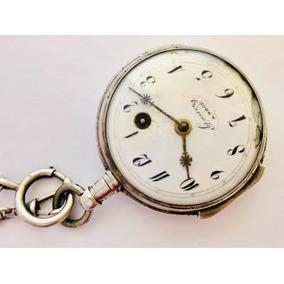 457cafb3613 Antigo Relógio De Bolso Francês Chopard (gaury) Verge Fusee