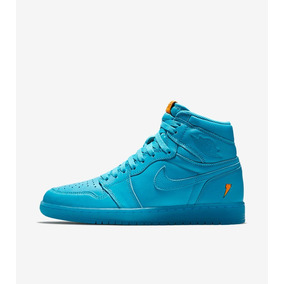 Nike Air Jordan I 1 High Gatorade Cool Blue Laguna Azul 28mx