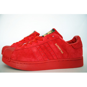 huge selection of 3b9ac 2de40 adidas rojo gamuza