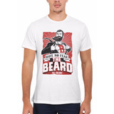 Remera Have No Fear The Beard Is Here Funny Unisex 1513