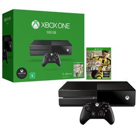 Console Xbox One Fifa 17 500gb (produto De Vitrine)