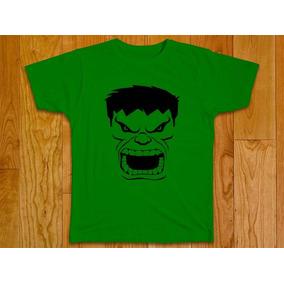 Camisa Blusa Masculina Super Herói Hulk Vingadores Plus Size